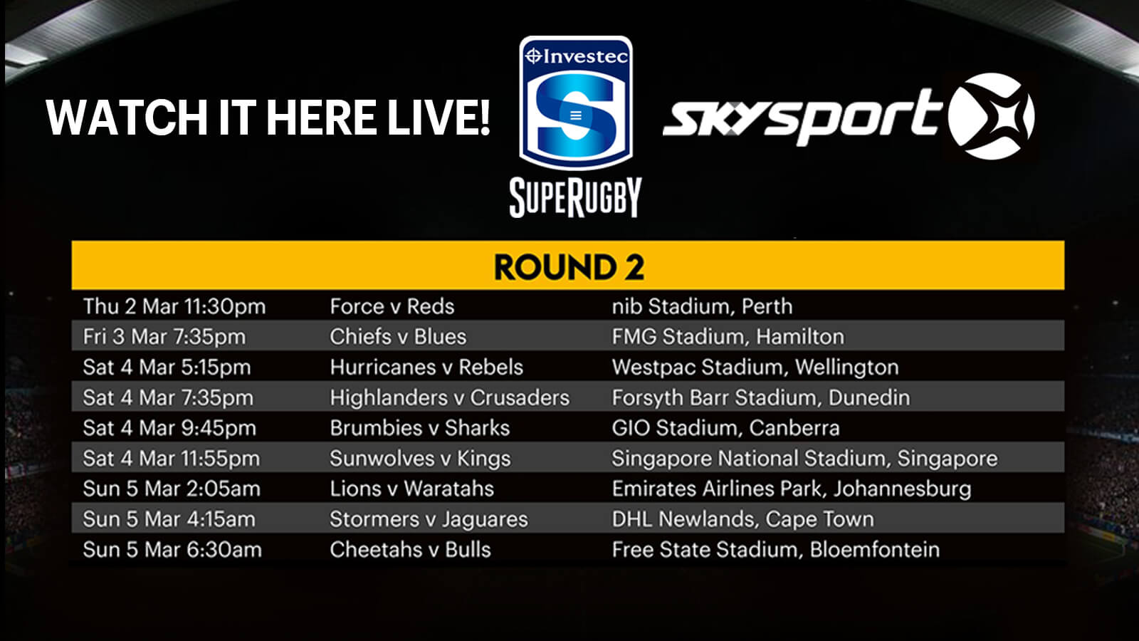 Sky Sport Images Direct from AMS Music